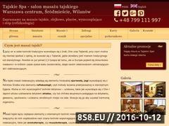 Miniaturka domeny www.tajskiespa.pl