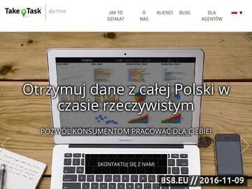 Zrzut strony Zlecenia przez net