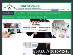 Miniaturka domeny www.taksator.info