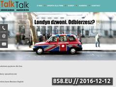 Miniaturka domeny talk-talk.pl