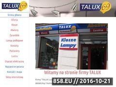 Miniaturka domeny www.talux.pl