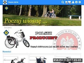 Zrzut strony Tanalski wózki inwalidzkie