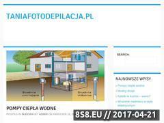Miniaturka domeny www.taniafotodepilacja.pl
