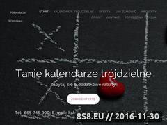 Miniaturka domeny tanie-kalendarze-trojdzielne.pl