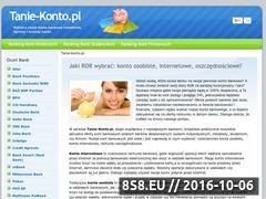 Miniaturka domeny www.tanie-konto.pl
