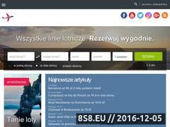Miniaturka domeny www.tanie-loty.com.pl