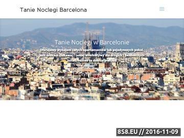 Zrzut strony Tanie noclegi w Barcelonie u Polaków