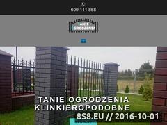 Miniaturka domeny www.tanie-ogrodzenie.pl