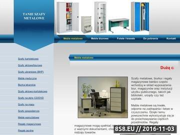 Zrzut strony Tanie szafy metalowe - PEKRO
