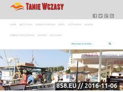 Miniaturka domeny tanie-wczasy.com.pl