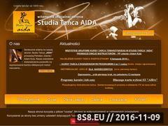 Miniaturka domeny www.taniec-aida.pl