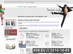 Miniaturka domeny taniec.info