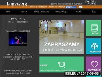 Zrzut strony Taniec