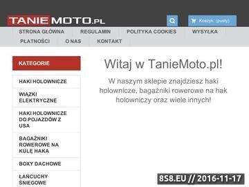 Zrzut strony Serwis Tanie Moto