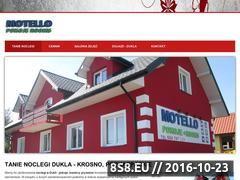 Miniaturka domeny www.tanienoclegi-dukla.pl