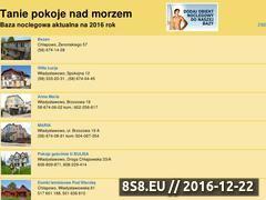 Miniaturka domeny www.taniepokojenadmorzem.pl