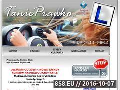 Miniaturka domeny tanieprawko.pl