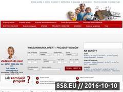 Miniaturka domeny www.tanieprojektydomow.com.pl