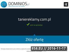 Miniaturka domeny www.taniereklamy.com.pl