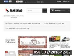 Miniaturka domeny tanisklad.pl