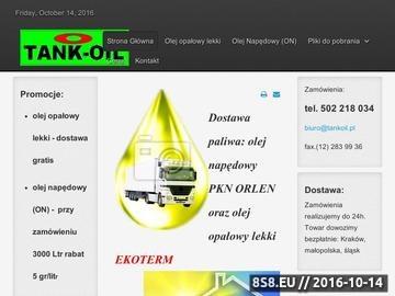 Zrzut strony Olej napędowy Kraków
