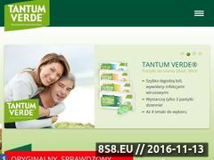 Miniaturka domeny www.tantumverde.pl