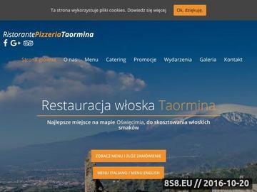 Zrzut strony Restauracja włoska