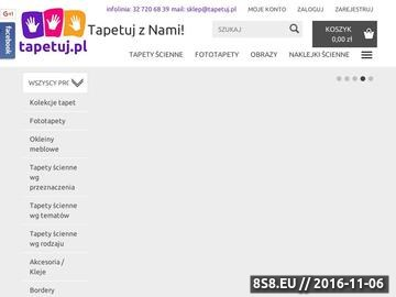 Zrzut strony Tapety