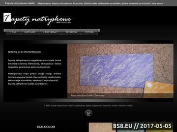 Zrzut strony Tapety natryskowe, malowanie Lublin