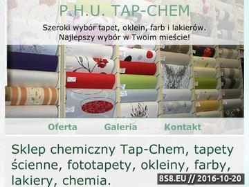 Zrzut strony Sklep chemiczny - tapety, okleiny, ceraty