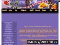 Miniaturka domeny www.tapetydladzieci.w8w.pl