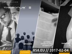 Miniaturka BHP - szkolenia BHP, wydawnictwo, doradztwo bhp (www.tarbonus.pl)