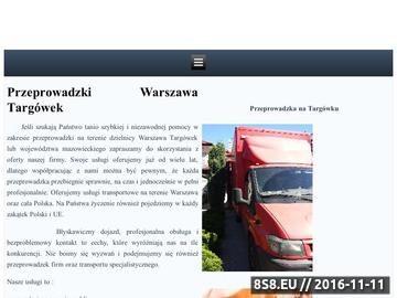 Zrzut strony Tanie przeprowadzki w Warszawie i na dzielnicy Targówek