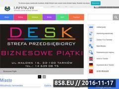 Miniaturka domeny www.tarnow.pl