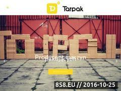 Miniaturka domeny www.tarpak.pl