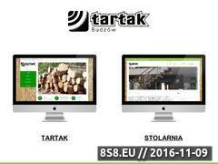 Miniaturka domeny tartak-budzow.pl