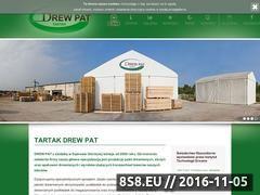 Miniaturka domeny www.tartak-drewpat.pl