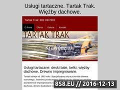 Miniaturka domeny tartaktrak.pl
