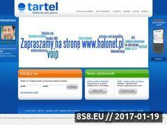 Miniaturka domeny www.tartel.pl