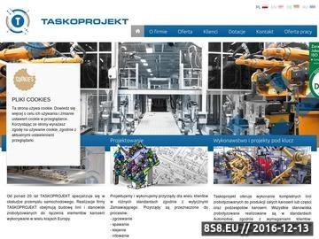 Zrzut strony Projektowanie i produkcja obrotników