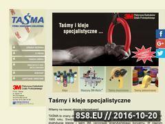 Miniaturka domeny www.tasma.krakow.pl