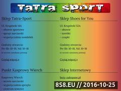 Miniaturka domeny tatra-sport.pl