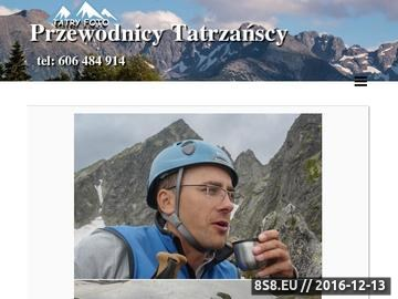 Zrzut strony Przewodnik tatrzański