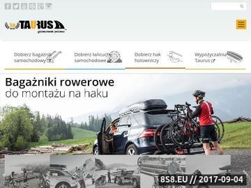 Zrzut strony Generalny dystrybutor Thule - Taurus.info.pl