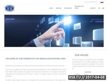Zrzut strony Biuro rachunkowe sosnowiec