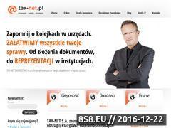 Miniaturka domeny www.tax-net.pl