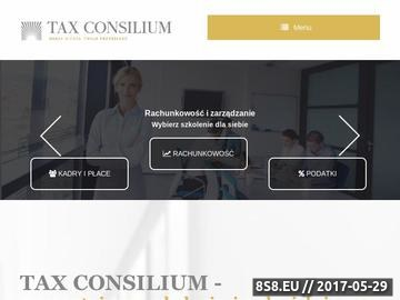 Zrzut strony Kursy Excel oraz administracyjne.