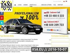 Miniaturka domeny taxi-bielsko.pl