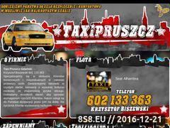 Miniaturka domeny taxi-pruszcz.pl