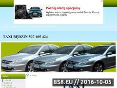 Miniaturka domeny taxibedzin24h.cba.pl